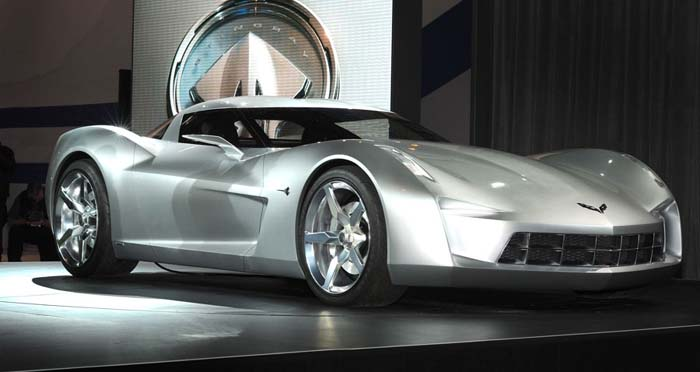 has revealed the 50th Anniversary Corvette Stingray Concept once again.