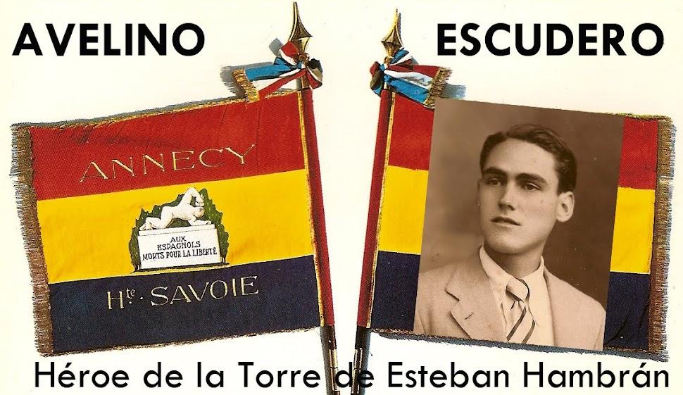 Avelino Escudero héroe la Torre de E.H.