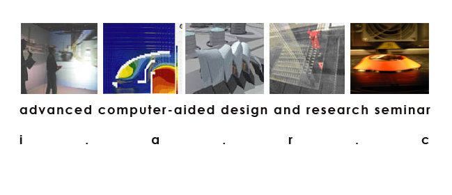 Advanced Computer-Aided Design Seminar