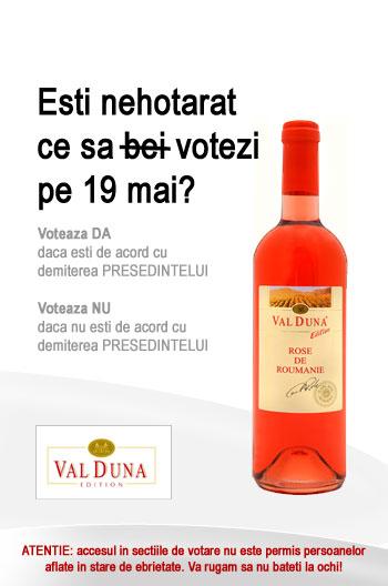 Val Duna - Mergi la Vot!