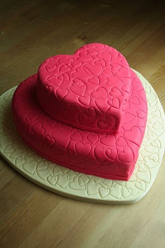Cake Designs Hearts : Dinda Sheeva Great Wedding Cakes Theme Designs Ideas ...