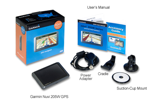gps garmin 205: