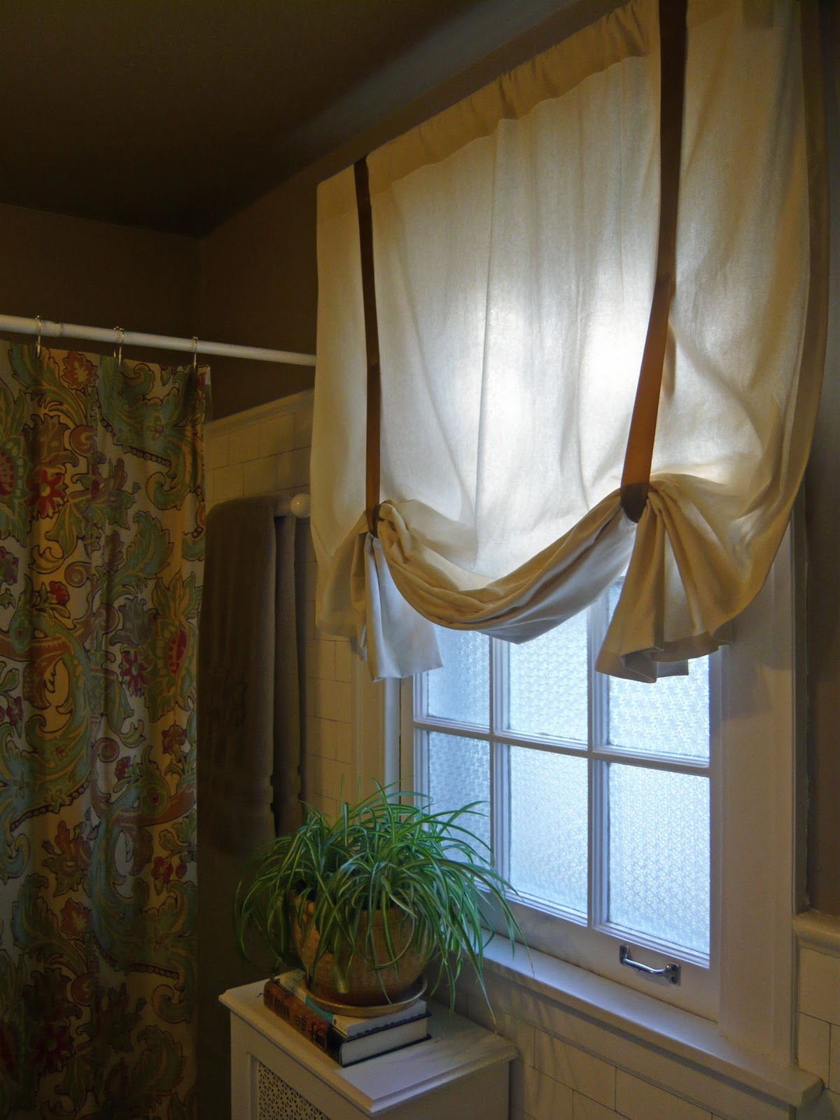 DIY No-Sew Curtains curtain panel and stitch witchery – Restored