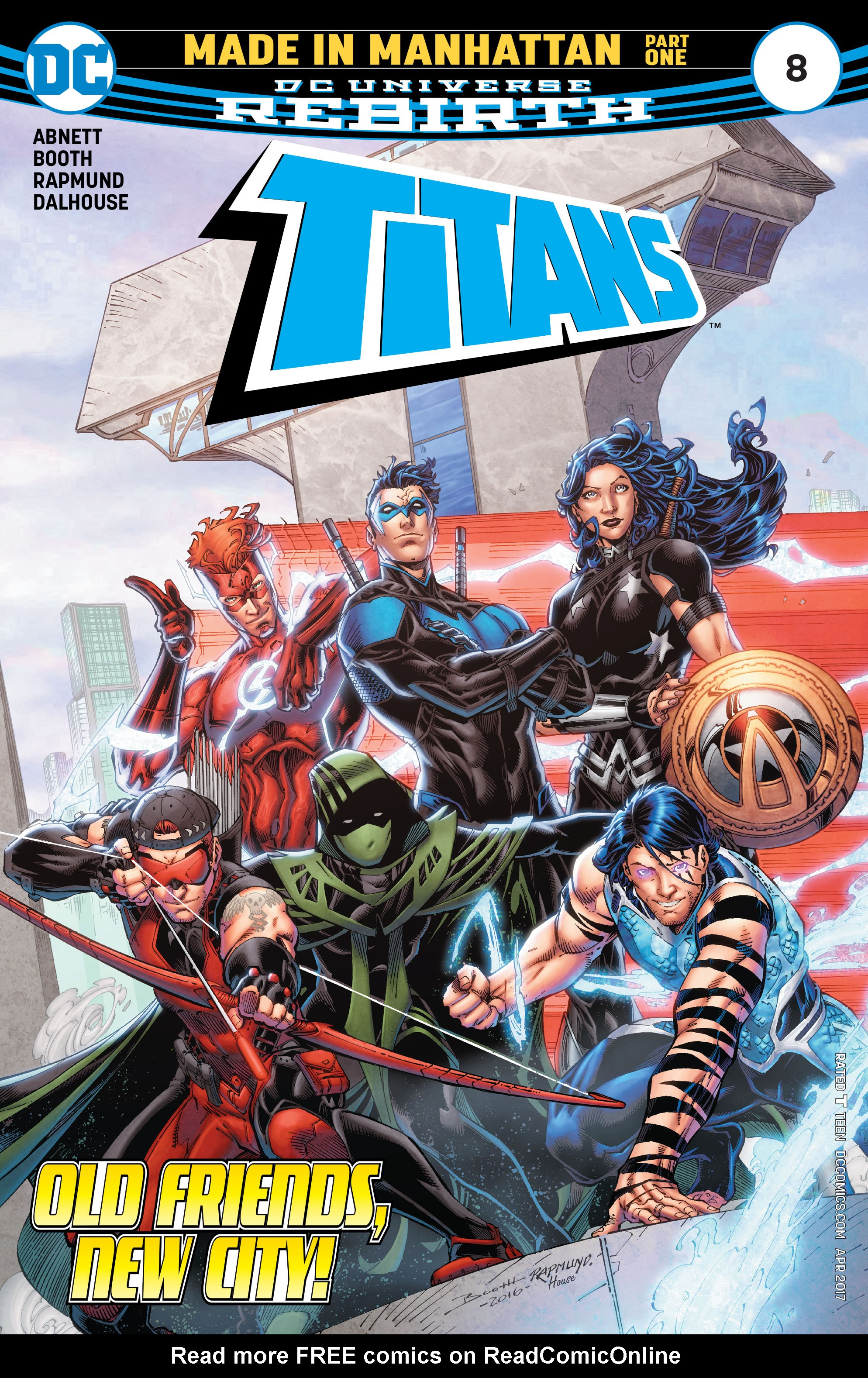 Titans (2016) issue 8 - Page 1