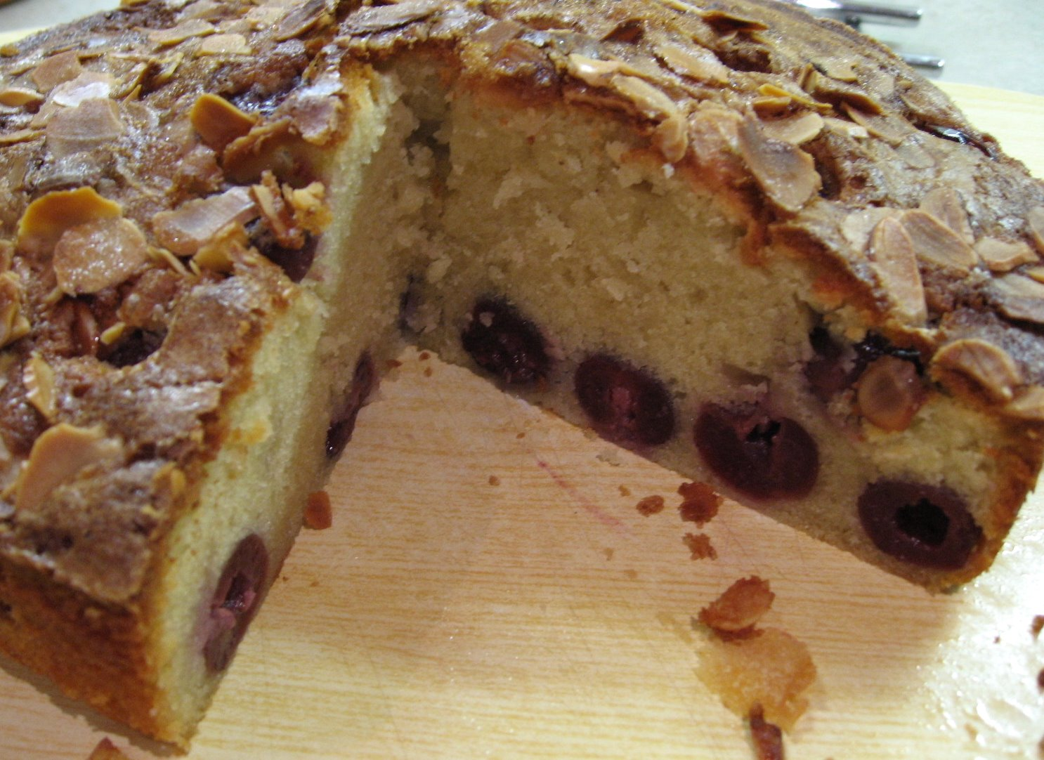 cherry almond cake nigella s cherry almond loaf easy cherry almond ...