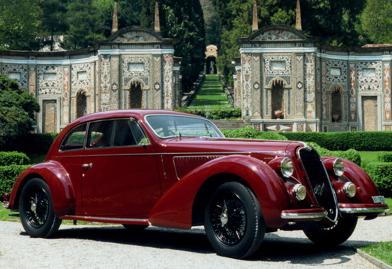 Alfa Romeo 6C 2300 Mille Miglia, 1938. The Alfa Romeo 6C name was used on
