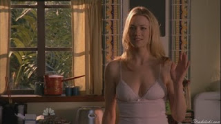 Yvonne Strahovski in the morning