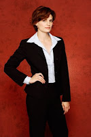 Stana Katic of castle