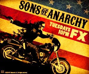 Sons of Anarchy Tuesdays on FX