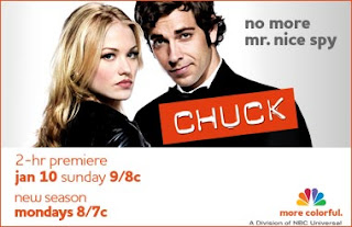 Chuck returns January 10