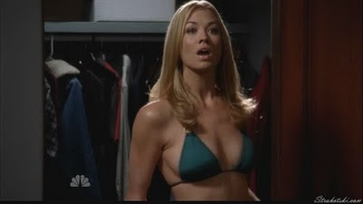 Yvonne Strahovski in a bikini
