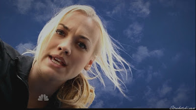 Yvonne Strahovski looking down on you