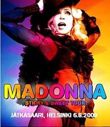 Madonna         Tallinn 4.8.2009  Helsinki 6.8.2009