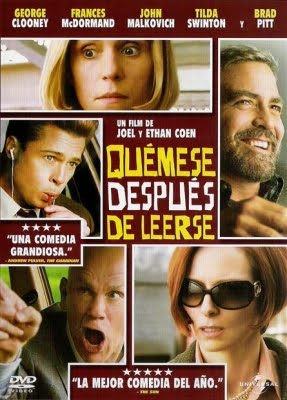 Quémese después de leerse (Burn after reading) (2008) - Subtitulada