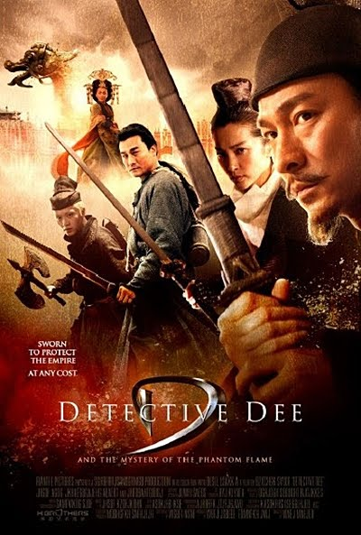 Ver Detective Dee and the Mystery of the Phantom Flame (2010) online