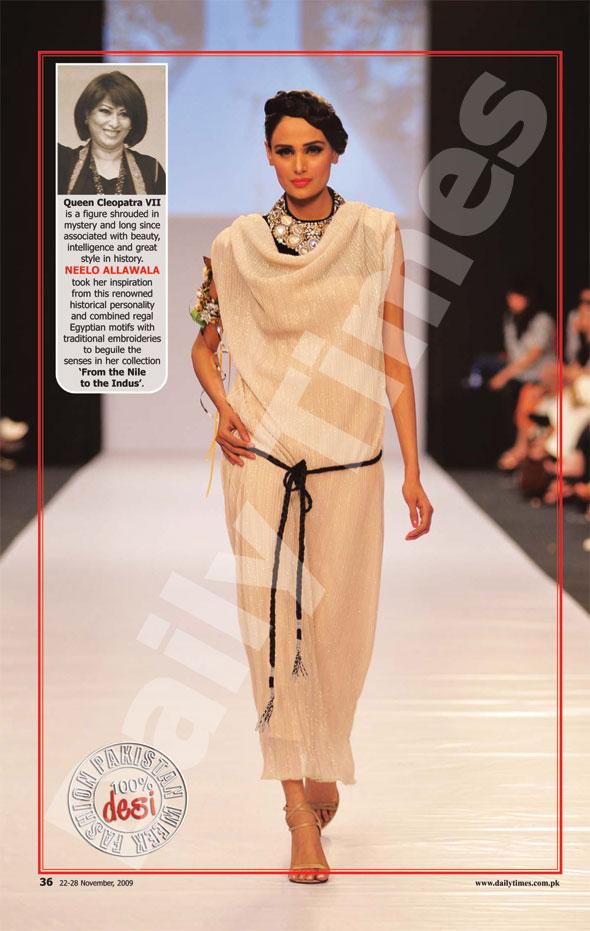 Fashion Magazine Models Pakistan Fashion Week In Eyes Of Sunday Magazine