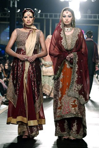 Hsy bridal collections tafreeh mela pakistani urdu for Couture meaning in urdu