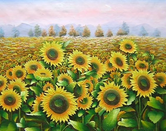 10 Beautiful Oil Paintings - Hand Paitings 5