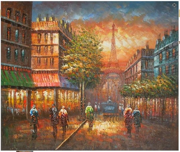 10 Beautiful Oil Paintings - Hand Paitings 2