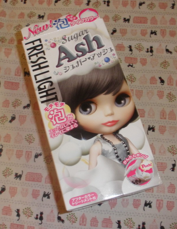 Lotus Palace Fresh Light Blythe Bubble Hair Color In