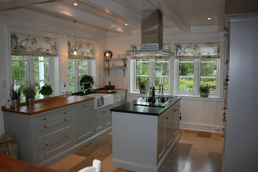Lises home: koselig, klassisk kjøkkeninspirasjon.