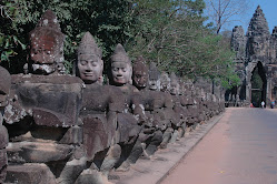 Entranced Way  Of Prasat Bayon ( Angkor Thom )