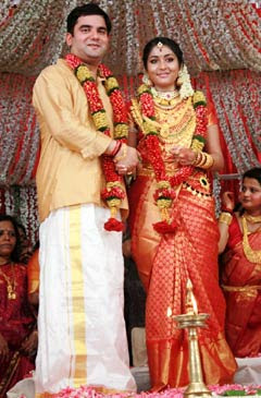 Naviya Nair marriage stills