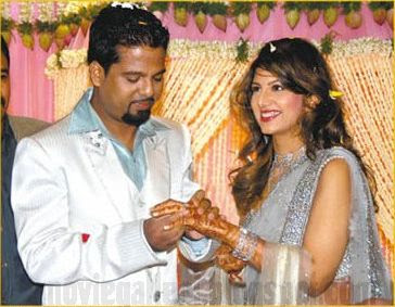 Rambha Engagement stills
