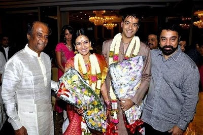 Superstar daughter Soundarya's Engagement stills