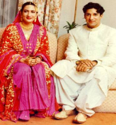 wasim akram marriage photos