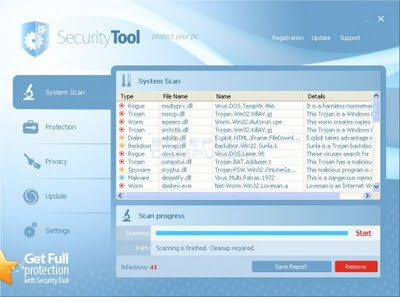 Security Tool Virus