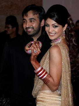 Shilpa Shetty wedding reception still