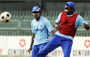 Dilshan playing