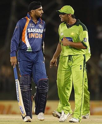 Akthar vs Harbhajan