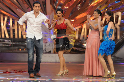 Irfan Pathan in a dance show