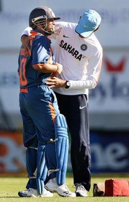 Sachin injury