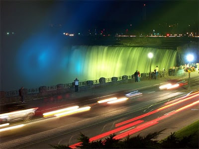 Festival of Lights at Niagara Falls