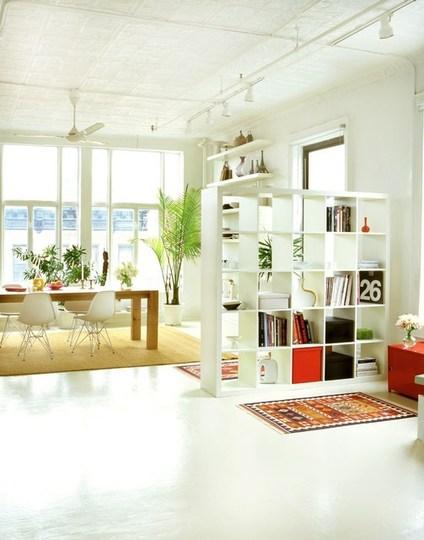 Decoro sin decoro buenas ideas para separar ambientes - Estanterias para separar ambientes ...