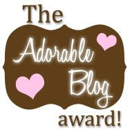 The Adorable Blog Award