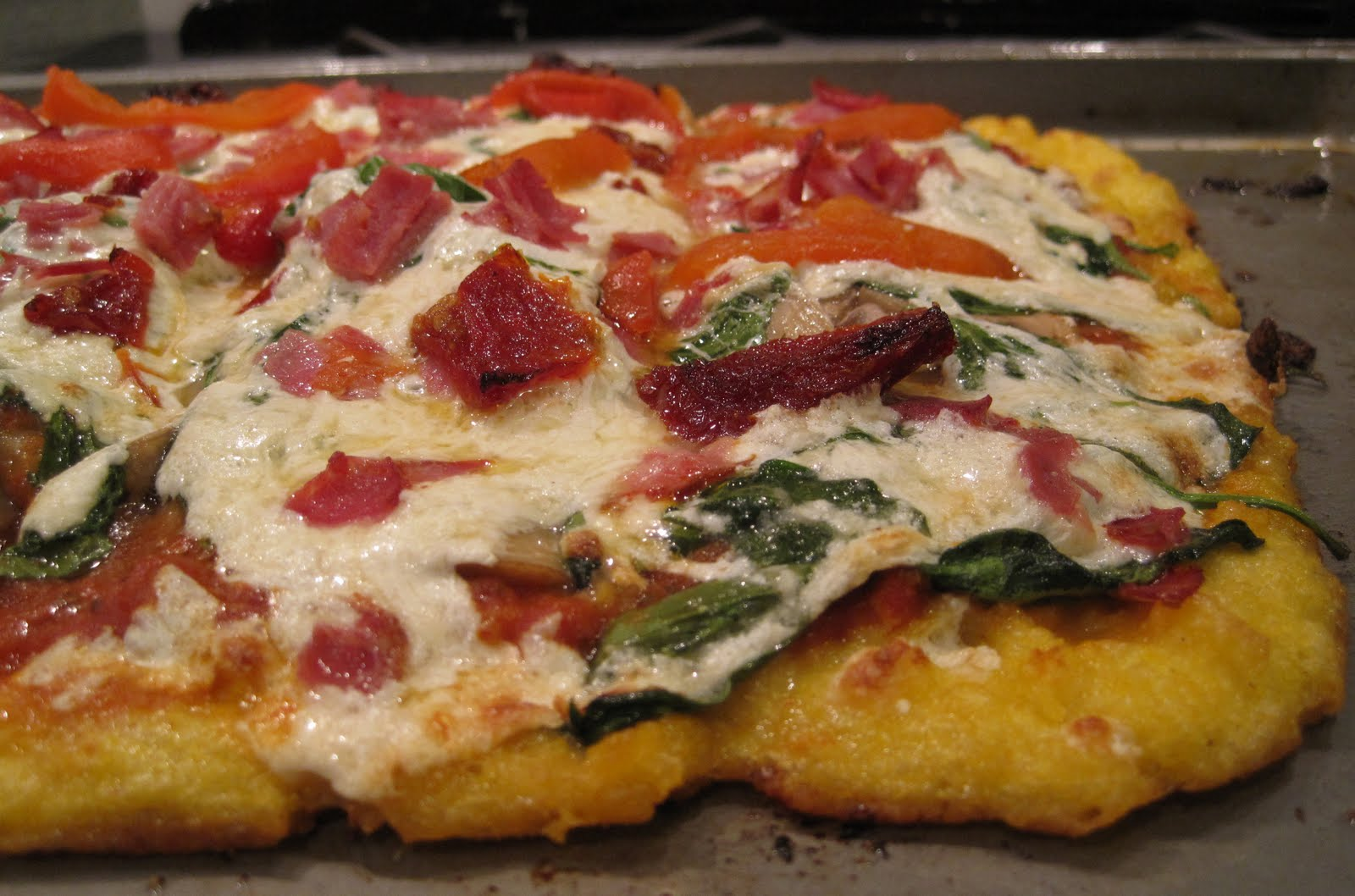 Yum Yum: Polenta Pizza