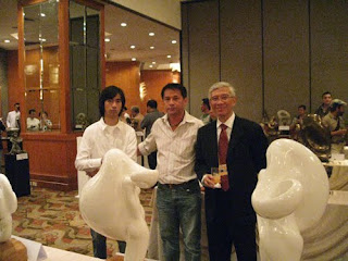 The Makati West Rotary Club's Sculpture Exhibit at Mandarin