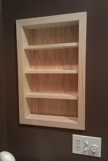 Jim Hewitt 39 S Carpentry Page Recessed Shelves In San