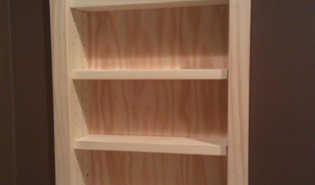 Jim Hewitt s Carpentry Page Recessed Shelves in San