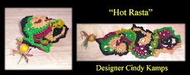 Hot Rasta CUFF Bracelet