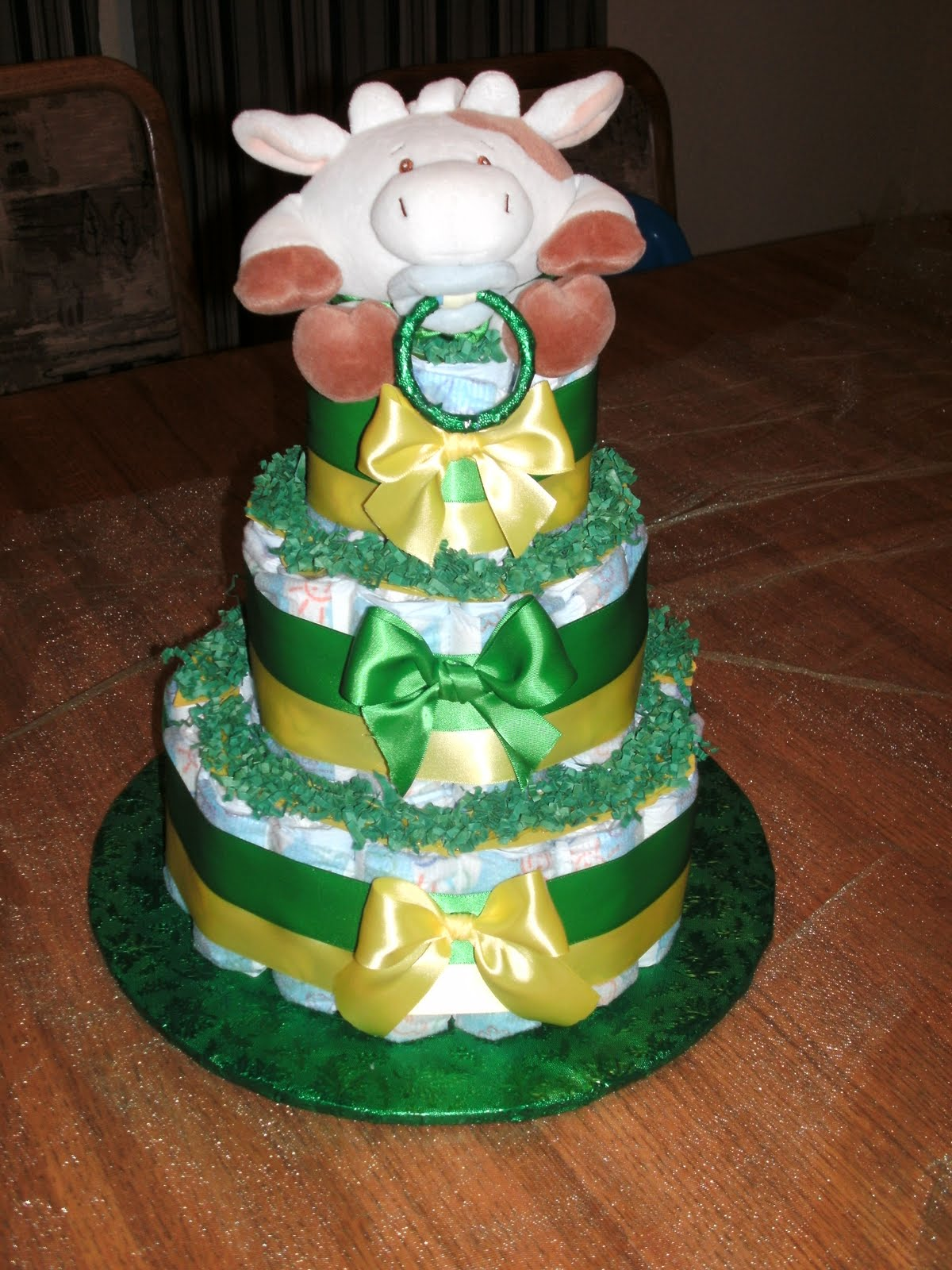 "Sweet Baby Diaper Cakes For Any ""Baby"" Occasion John Deere"