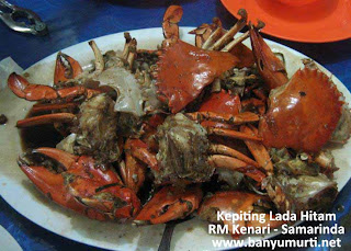 Kuliner 93 - Kepiting RM Kenari, Samarinda