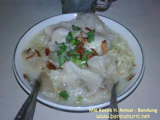 Kuliner 113 - Mie Kocok H. Amsar, Bandung