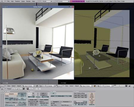 Arqline blender programa para modelado 3d gratuito y for Software para diseno de casas 3d gratis