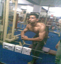 Ali Jutt In Gym