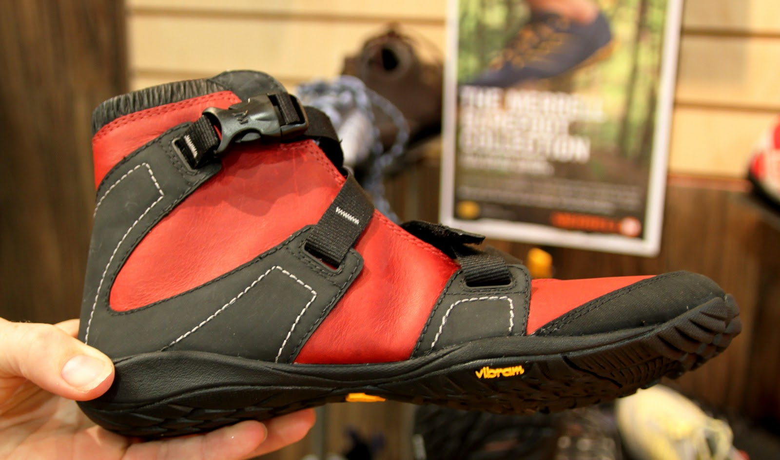 Lyra Mag Merrell Vibram Barefoot Shoes Collection